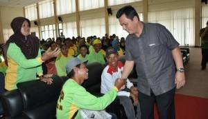 Ansar Silaturahmi Bersama Satgas Kebersihan Bintan