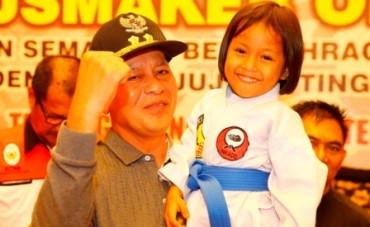 Kejuaraan Karate Antar Pelajar Tanjungpinang dan Bintan Resmi Dibuka Wawako