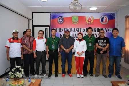 Walikota Tanjungpinang Buka Kursus Wasit Sepakbola C3