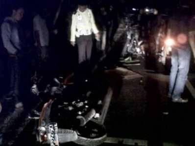 Diduga Korban Tabrak lari, Suwanto Terkapar di Pinggir Jalan