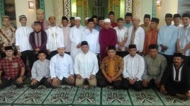 Shalat Jum'at Perdana di Mesjid Nurul Iman