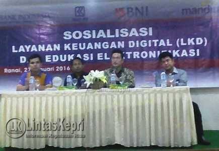 BI Pilih Natuna Sebagai Prioritas Pelayanan Elektronik