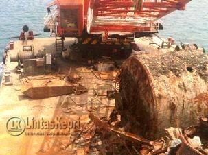 18 ABK China Plus Kapal Ditangkap Warga Lingga
