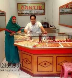 Harga Emas di Tanjungpinang Naik