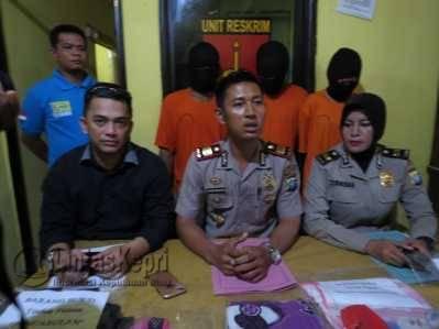 Sehari Polsek Kota Release Tiga Kasus
