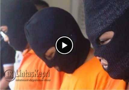 Video Pelaku dan Penadah Curanmor Diamankan Polisi