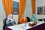 Hj.Noorlizah Nurdin Bersilahturrahmi Dengan TP PKK Kepri