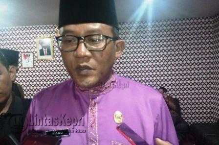 Sekretaris Daerah (Sekda) Kota Tanjungpinang, Riono.