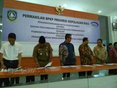 BPKP dan Pemda MoU Pengembangan Manajemen