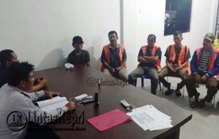 12 Juru Parkir Nakal Diamankan Satpol PP dan Dishub Tanjungpinang