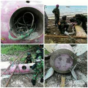 WFQR dan Nelayan Temukan Benda Mirip Torpedo di Bintan