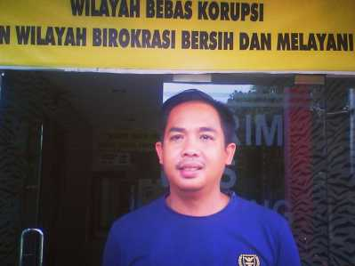 Kasat Reskrim Polres Tanjungpinang, AKP andri Kurniawan.
