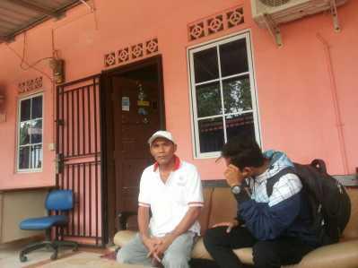 Bustanul, Ketua RW 05 Kampung Harapan Bengkong, Batam.