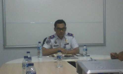 Kepala KSOP Tanjungpinang, Rajuman Sibarani.