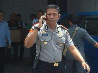 Kapolsek Tanjungpinang Timur, AKP efendrie Alie.