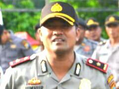 Kapolsek Bukit Bestari, Kompol Abidin Jumhur.