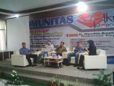 Komunitas Aku Indonesia Gelar Seminar.