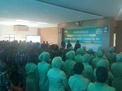 Korem 033/WP Gelar Kegiatan Pembinaan Netralitas TNI.