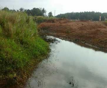 Foto awal mulanya pihak pengembang melakukan penimbunan dan pemotongan aliran Sungai Sudip.