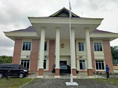 Kantor Pengadilan Agama Tanjungpinang Kelas I-B di Jalan Raya Senggarang Kota Tanjungpinang.