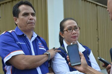 Ketua Dpc Batu Aji Arlon Veristo dan Horjani Dewati Hutagalung