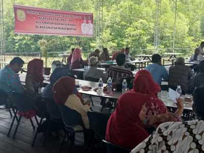 Coffee Morning bersama Forum RT/RW wilayah Kecamatan Bukit Bestari.