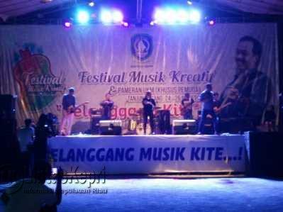 Festival Musik Kreatif Kepri.