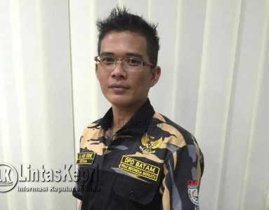 Ketua Dewan Pimpinan Daerah Pembela Kesatuan Tanah Air Indonesia Bersatu (DPD Pekat IB) Kota Batam, La Adi Ode.