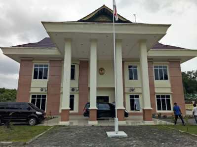 Kantor Pengadilan Agama Kelas I-B jalan Raya Senggarang Kota Tanjungpinang.