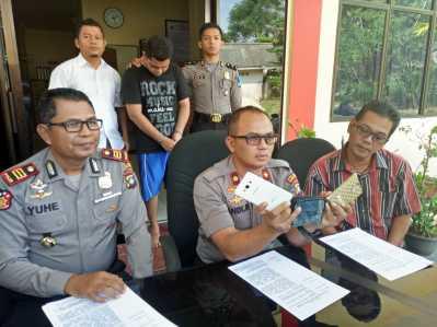 Press Rilis Kasus Jambret di Wilayah Hukum Polres Tanjungpinang Barat.