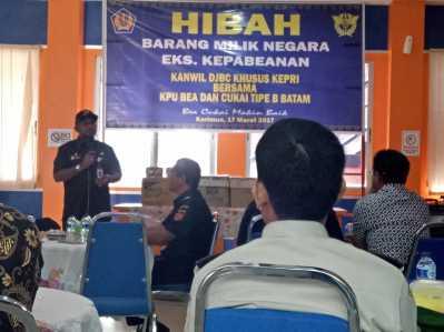 Walikota Tanjungpinang saat menyampaikan kata sambutan.