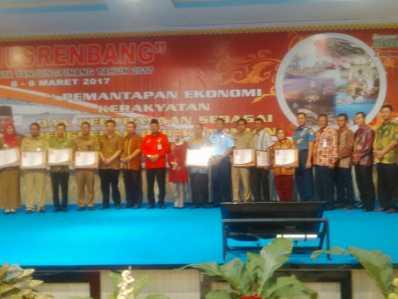 Musrenbang Kota Tanjungpinang 2017 di Hotel CK Tanjungpinang, Kamis (9/3).