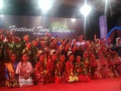 Festival Tari Kabupaten Bintan.