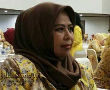 Anggota DPRD Provinsi Kepulauan Riau, Hj. Dewi Kumalasari.