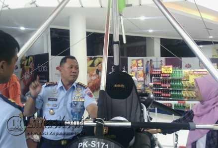 Komandan Lanud RHF Tanjungpinang, Provinsi Kepulauan Riau, Kolonel Pnb Wahyu Anggono.