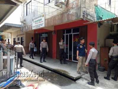 Polisi gelar Rekonstruksi Kasus OTT Pegawai BUMD Tanjungpinang
