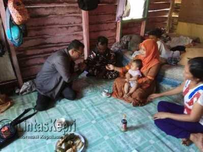 GM-FKPPI Tanjungpinang Bantu Satgas PC 3102