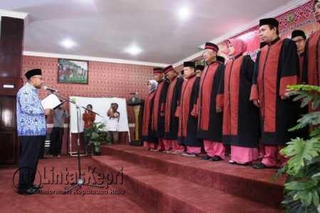 53 Dewan Hakim MTQ XI Kota Tanjungpinang Dilantik