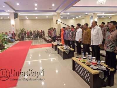 Para tamu undangan dari Pejabat Kepri terlihat hadir diacara Musrenbang Provinsi Kepri 2017.
