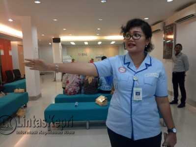 Kepala BPJS cabang Tanjungpinang, Lenny Marlina Manalu.