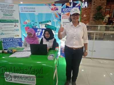 Kepala BPJS Kesehatan cabang Tanjungpinang, dr. Lenny Marlina Manalu.