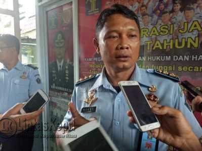 Ronny Widiyatmoko selaku Kepala Rutan Klas I Tanjungpinang.