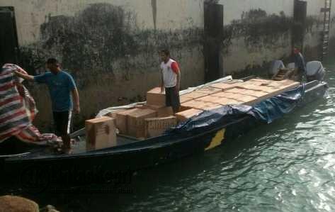 WFQR Gagalkan Speed Boat Pembawa Rokok Tanpa Cukai.