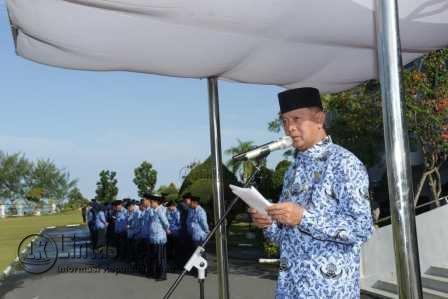 Pemko Tanjungpinang Gelar Upacara Hari Otonomi Daerah XXI.