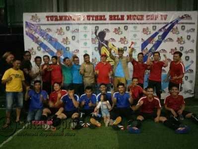 Disdik Kepri FC Juara Turnamen Futsal Bela Muda Cup IV.