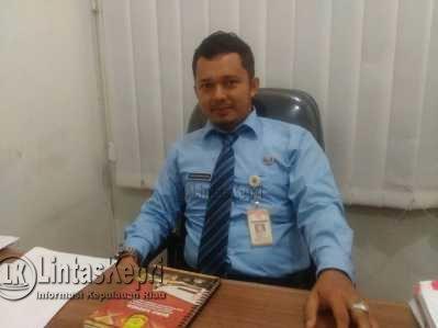 Kepala Bidang Pengawasan dan Pengendalian Perizinan Dinas Penanaman Modal dan Pelayanan Terpadu Satu Pintu (PMPTSP) Kota Tanjungpinang, Sony Andriana Kusuma.