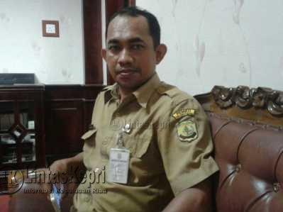Ketua Pengurus Karang Taruna Kelurahan Tanjungpinang Kota, Syafrudin.