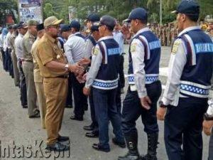 Apel Gabungan Dishub dan Satpol PP yang dipimpin langsung Wali Kota Tanjungpinang,  Lis Darmansyah, Selasa (23/5) lalu.