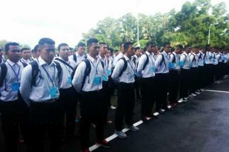 321 Calon Bintara dan 33 Taruna AAL Panda Tanjungpinang Siap Bersaing.