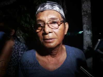 Muhammad Agus, pemilik rumah yang terbakar di Jalan Haji Agus Salim Kota Tanjungpinang.